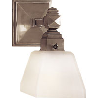 Visual Comfort E.F. Chapman Normandie 1 Light Bath Wall Light in Antique Nickel CHD1541AN-FG - Open Box