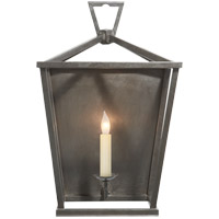 Visual Comfort E. F. Chapman Darlana 1 Light 11 inch Aged Iron with Wax Decorative Wall Light CHD2165AI - Open Box