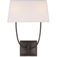 Visual Comfort R-CHD2621BZ-L E. F. Chapman Venini 2 Light 14 inch Bronze Wall Sconce Wall Light CHD2621BZ-L - Open Box