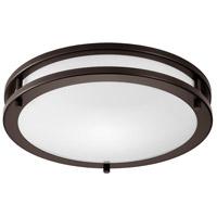 Light Visions Contemporary LED 14 inch Oil Rubbed Bronze Flush Mount Ceiling Light, 3000K, 90 CRI CL780131 - Open Box