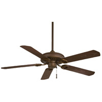 Minka-Aire Sundowner 54 inch Oil Rubbed Bronze with Dark Maple Blades Outdoor Ceiling Fan F589-ORB - Open Box