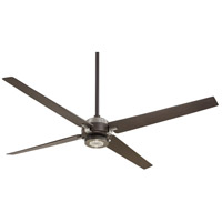 Minka-Aire Spectre 60 inch Oil Rubbed Bronze/Brushed Nickel with Oil Rubbed Bronze Blades Ceiling Fan in Oil Rubbed Bronze w/ Brushed Nickel F726-ORB/BN - Open Box
