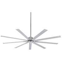 Minka-Aire Xtreme 72 inch Brushed Nickel with Silver Blades Ceiling Fan F887-72-BN - Open Box