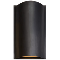 Visual Comfort R-KW2704BZ-FG Kelly Wearstler Avant LED 7 inch Bronze Wall Sconce Wall Light KW2704BZ-FG - Open Box