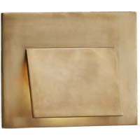Visual Comfort R-KW2706AB Kelly Wearstler Esker LED 9 inch Antique-Burnished Brass Wall Sconce Wall Light KW2706AB - Open Box