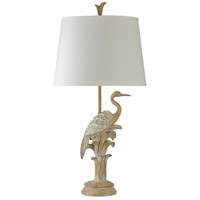 StyleCraft Home Collection Signature 36 inch 150 watt Natural Wood Table Lamp Portable Light L310446DS - Open Box
