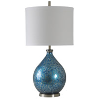 StyleCraft Home Collection Signature 36 inch 150 watt Blue Mercury Table Lamp Portable Light L311292DS - Open Box