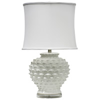 StyleCraft Home Collection Signature 28 inch 150 watt Atmore White Table Lamp Portable Light L311320DS - Open Box