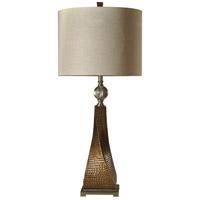StyleCraft Home Collection R-L313848DS Signature 4 inch 150 watt Bessemer Gold Table Lamp Light L313848DS - Open Box