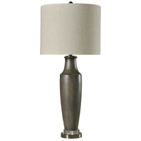 StyleCraft Home Collection Signature 38 inch 150 watt Gray Table Lamp Portable Light L314003DS - Open Box