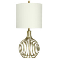 StyleCraft Home Collection Signature 31 inch 150 watt Vintage Gold Table Lamp Portable Light L38927DS - Open Box