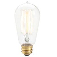 Renwil R-LB006-3 Edison Incandescent Type A E26 60 watt Light Bulb Small Pack of 3 LB006-3 - Open Box