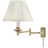 House of Troy Library 12 inch 60 watt Polished Brass Wall Swing Arm Wall Light LL660-PB - Open Box