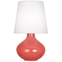 Robert Abbey R-ML993 June 31 inch 150 watt Melon Table Lamp Portable Light in Oyster Linen ML993 - Open Box