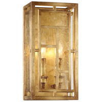 Metropolitan R-N6472-293 Edgemont Park 2 Light 7 inch Pandora Gold Leaf Wall Sconce Wall Light N6472-293 - Open Box