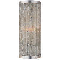 Visual Comfort R-NW2222BSL Niermann Weeks Sophie 2 Light 7 inch Burnished Silver Leaf Wall Sconce Wall Light NW2222BSL - Open Box