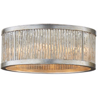 Visual Comfort Niermann Weeks Sophie 4 Light 14 inch Burnished Silver Leaf Flush Mount Ceiling Light, Niermann Weeks NW4020BSL - Open Box