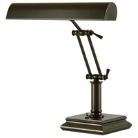 House of Troy R-P14-201-81 Piano And Desk 14 inch 60 watt Mahogany Bronze Piano Lamp Portable Light in Square P14-201-81 - Open Box