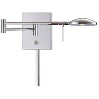 George Kovacs Georges Reading Room 4 inch 8 watt Chrome Swing Arm Wall Lamp Wall Light P4338-077 - Open Box