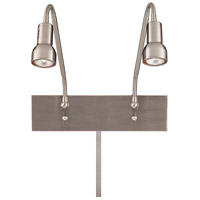George Kovacs Save Your Marriage 7 inch 50 watt Brushed Nickel Task Wall Lamp Wall Light, Low Voltage P4400-084 - Open Box