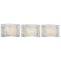 George Kovacs R-P5283-077-L Forest Ice 3 Light 29 inch Chrome Bath-Bar Lite Wall Light P5283-077-L - Open Box