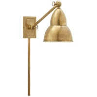 Visual Comfort Studio French Library Single Wall Lamp in Hand-Rubbed Antique Brass S2601HAB - Open Box  photo thumbnail