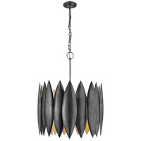 Visual Comfort R-S5048AI Barry Goralnick Hatton 4 Light 31 inch Aged Iron Pendant Ceiling Light Barry Goralnick Large S5048AI - Open Box