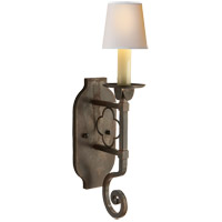 Visual Comfort Suzanne Kasler Margarite Single Sconce in Aged Iron SK2105AI - Open Box