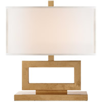 Visual Comfort R-SK3207G-L Suzanne Kasler Mod 16 inch 60 watt Gilded Iron Decorative Table Lamp Portable Light in Linen SK3207G-L - Open Box