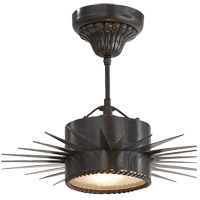 Visual Comfort Suzanne Kasler Soleil 1 Light Flush Mount in Bronze SK5200BZ - Open Box