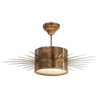 Visual Comfort Suzanne Kasler Soleil 2 Light 28 inch Hand-Rubbed Antique Brass Flush Mount Ceiling Light SK5202HAB - Open Box