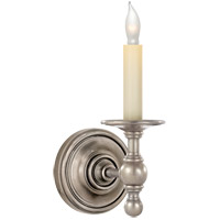 Visual Comfort R-SL2815AN E. F. Chapman Classic 1 Light 5 inch Antique Nickel Decorative Wall Light SL2815AN - Open Box