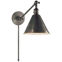 Visual Comfort E.F. Chapman Boston 1 Light 7 inch Bronze Task Wall Light SL2922BZ - Open Box