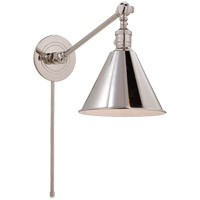 Visual Comfort E.F. Chapman Boston 1 Light Task Wall Light in Polished Nickel SL2922PN - Open Box