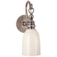 Visual Comfort E. F. Chapman Boston 1 Light 5 inch Antique Nickel Wall Light SL2934AN-WG - Open Box