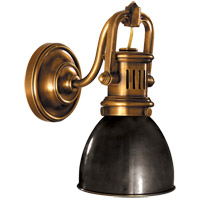 Visual Comfort R-SL2975HAB-BZ E. F. Chapman Yoke 1 Light 5 inch Hand-Rubbed Antique Brass Suspended Wall Sconce Wall Light in Bronze with Wax