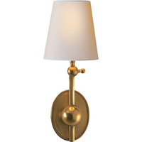 Visual Comfort Thomas OBrien Alton 1 Light 6 inch Hand-Rubbed Antique Brass Decorative Wall Light in (None) TOB2081HAB-NP - Open Box