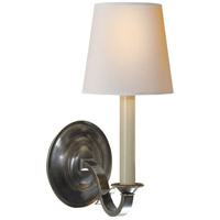 Visual Comfort Thomas OBrien Channing 1 Light Decorative Wall Light in Bronze TOB2120BZ-NP - Open Box