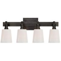 Visual Comfort R-TOB2153BZ-WG Thomas OBrien Bryant 4 Light 20 inch Bronze Bath Wall Light TOB2153BZ-WG - Open Box
