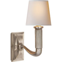 Visual Comfort Thomas OBrien Gallois 1 Light 5 inch Antique Nickel Decorative Wall Light TOB2335AN-NP - Open Box