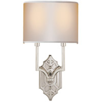 Visual Comfort R-TOB2600PN-NP Thomas OBrien Silhouette 2 Light 9 inch Polished Nickel Decorative Wall Light TOB2600PN-NP - Open Box