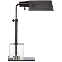Visual Comfort Thomas OBrien Jennings Pharmacy 17 inch 60 watt Bronze Task Table Lamp Portable Light TOB3725BZ - Open Box