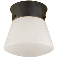 Visual Comfort Thomas OBrien Perry 1 Light Flush Mount in Bronze TOB4000BZ - Open Box