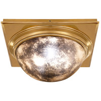 Visual Comfort Thomas OBrien Venice 2 Light 18 inch Hand-Rubbed Antique Brass Flush Mount Ceiling Light TOB4221HAB-AM - Open Box