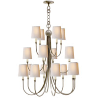 Visual Comfort R-TOB5019AN-NP Thomas OBrien Reed 16 Light 33 inch Antique Nickel Chandelier Ceiling Light TOB5019AN-NP - Open Box