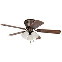 Craftmade Wyman 42 inch Oil Rubbed Bronze with Classic Walnut/Walnut Blades Ceiling Fan WC42ORB5C3F - Open Box