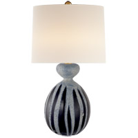 Visual Comfort Aerin Gannet Table Lamp in Drizzled Cobalt ARN3606DC-L - Open Box
