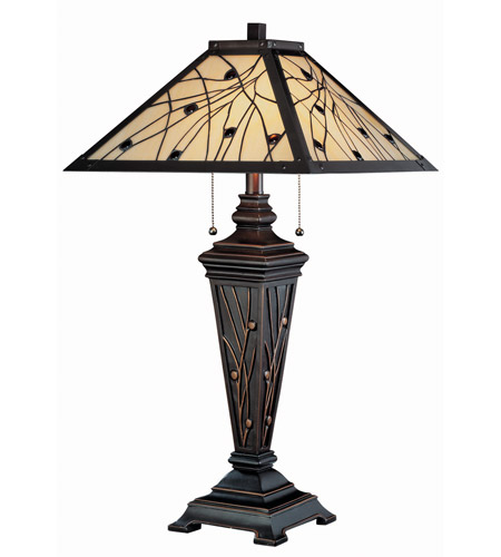 Lite Source C41117 Remus 30 Inch 13 Watt Dark Bronze Table Lamp