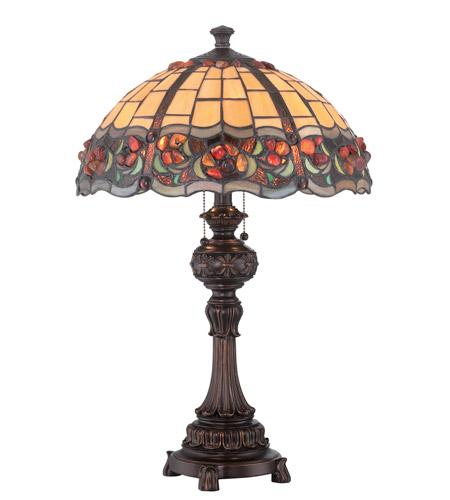 Lite Source C41341 Deana 25 Inch 13 Watt Dark Bronze Table Lamp