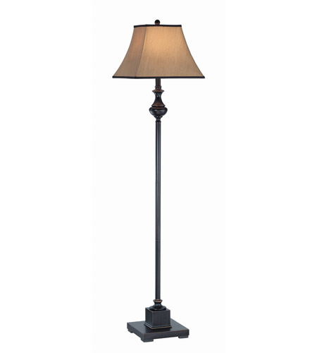 Lite Source C61151 Bandele 58 inch 150 watt Dark Bronze Floor Lamp Portable Light photo